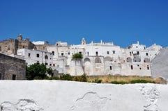 Panorama Puglia de Ostuni Fotografia de Stock Royalty Free