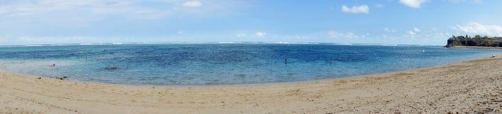 Panorama Pura geger plaża bali Indonesia zdjęcia royalty free