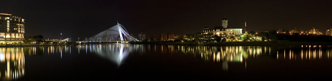 panorama putrajaya Στοκ Φωτογραφίες