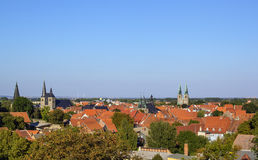 Panorama of Quedlinburg, Germany Royalty Free Stock Image