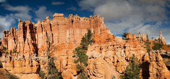 Panorama of Queens Garden. Bryce Canyon National Park, Utah Royalty Free Stock Images