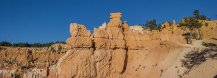 Panorama of Queens garden trail in Bryce Canyon Stock Photo