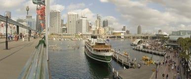 Panorama querido do porto imagens de stock