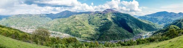 Panorama Rakhiv Zdjęcie Stock