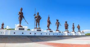 Panorama Ratchapak King's Memorial Park Tailândia Imagens de Stock Royalty Free