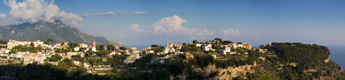 Panorama of Ravello Royalty Free Stock Images