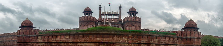 Panorama Red Fort, Delhi Royalty Free Stock Photos
