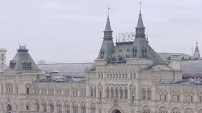 Panorama of Red Square. In Moscow, Russia stock video footage