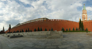 Panorama of Red Square, Moscow, Russia Stock Photos