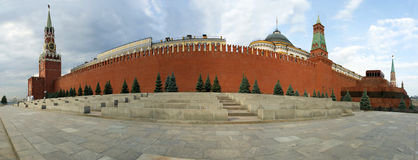 Panorama of Red Square on a summer day, Moscow, Russia Stock Image
