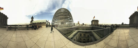 Panorama Reichstag Stock Images