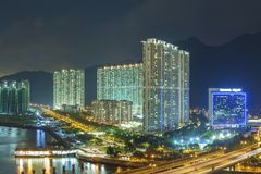 High rise residential building in Hong Kong Royalty Free Stock Photos
