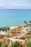 Panorama of resort on Dead Sea coast 2 Stock Photo