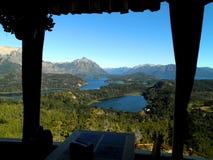 Panorama- restaurang i Argentina Royaltyfri Foto