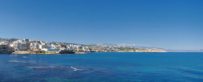 panorama Rethymnon zdjęcie royalty free