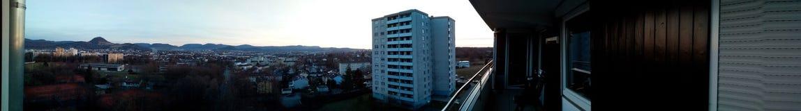 Panorama Reutlingen im Lizenzfreie Stockbilder