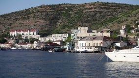panorama Rhodes d'île de la Grèce de compartiment clips vidéos