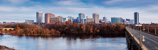 Panorama of Richmond Royalty Free Stock Image