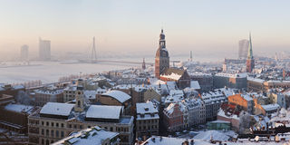 Panorama of Riga Royalty Free Stock Image