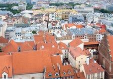 Panorama of Riga Royalty Free Stock Image