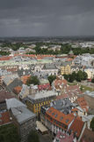 Panorama on Riga, Capital of Latvia Stock Image