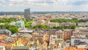 Panorama Riga, Latvia Obrazy Stock