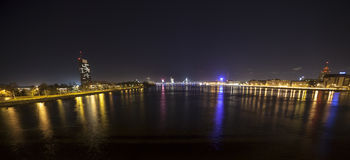 Panorama of Riga, Latvia, Europe Royalty Free Stock Images