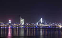 Panorama of Riga, Latvia, Europe Royalty Free Stock Photos