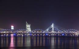 Panorama of Riga, Latvia, Europe Royalty Free Stock Photos