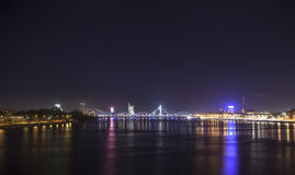 Panorama of Riga, Latvia, Europe Stock Photos