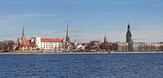 Panorama of  Riga. Latvia Stock Image