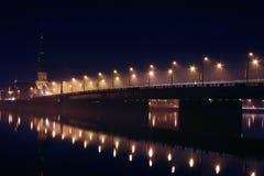 panorama Riga łotwa Zdjęcie Royalty Free
