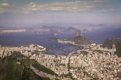 Panorama of Rio de Janeiro Royalty Free Stock Images