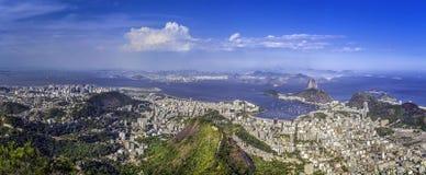 Panorama of Rio de Janeiro ,Brazil Stock Image