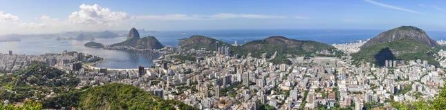Panorama in Rio de Janeiro, Brazil Royalty Free Stock Photos