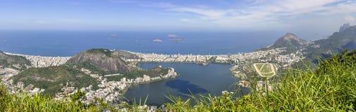 Panorama in Rio de Janeiro, Brazil Stock Photo
