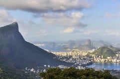 Panorama in Rio de Janeiro, Brazil Royalty Free Stock Images