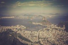 Panorama of Rio de Janeiro Stock Photos
