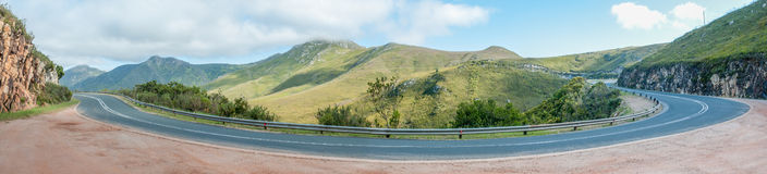Panorama of the Robinson Pass Royalty Free Stock Photography