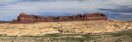 Panorama of Rocky Utah Landscape Stock Photo