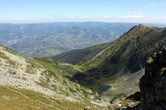 Panorama in Rodnei Mountains Stock Image