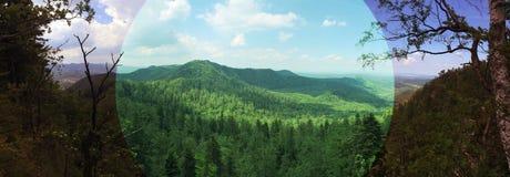 Panorama Roemenië royalty-vrije stock fotografie