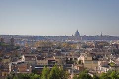 Panorama, Roma, Itália Imagem de Stock Royalty Free