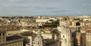 Panorama of Rome Royalty Free Stock Photos
