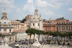 panorama rome Royaltyfri Foto