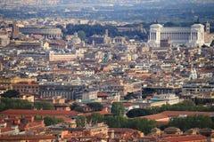 panorama rome Arkivbild