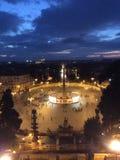 Panorama Rome stock foto