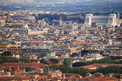 Panorama of Rome Stock Photography