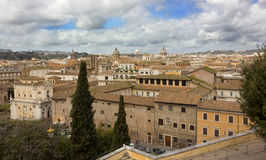 Panorama of Rome Royalty Free Stock Photography