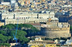Panorama of Rome Royalty Free Stock Photo